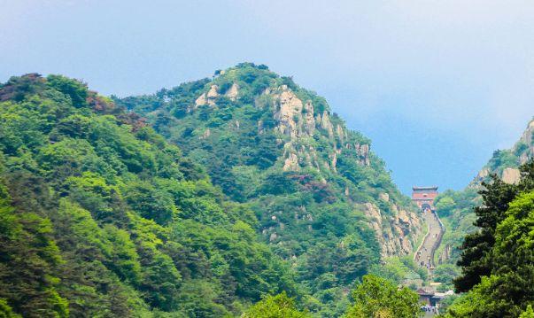 秀丽的泰安泰山,诉说着历史文明,让人难忘