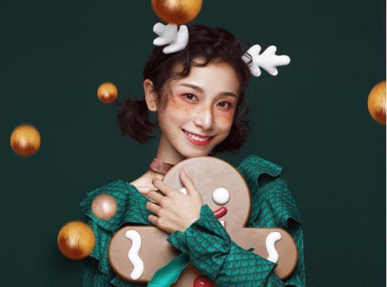 """""""明玉""""现代装cos圣诞经典角色! 比古装更惊艳, 你pic"""