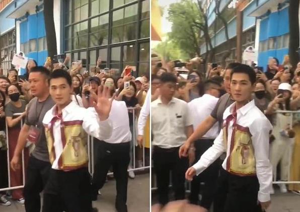 28岁杨洋近照,硬汉十足却骨瘦如柴,直接撞脸彭于晏!