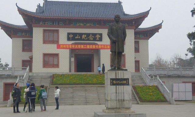 湖北一公园,是江汉平原上第一大公园,深受本地人喜好,就在荆州