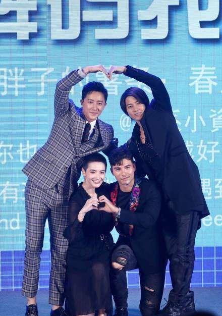 韩庚山下智久出席《解码游戏》发布会,颜值相当的两人你pick谁?