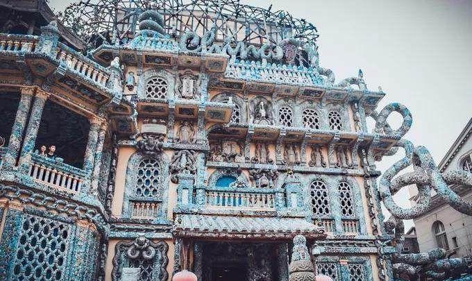 瓷房子,中国古典艺术元素与欧洲文艺复兴时期艺术风格的完美结合