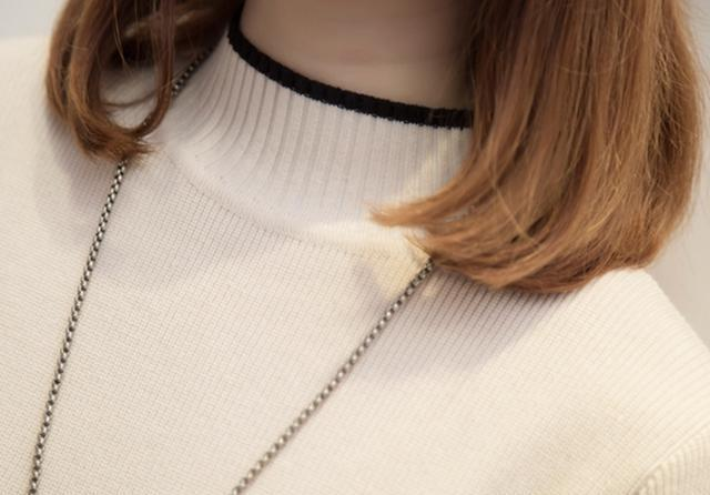 这森系毛衣+暖暖裤一出来就火,今年这洋气毛衣,人见人夸瘦美嫩