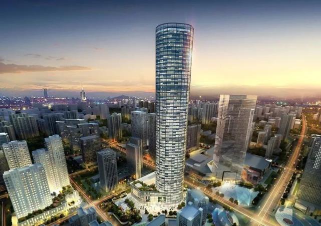 湖北正在装备省内第六高楼,耗资23亿,高度330米!