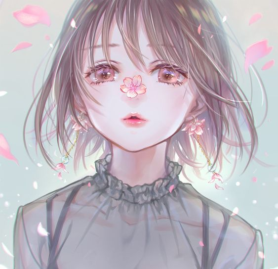 可爱甜美的大眼动漫女生头像