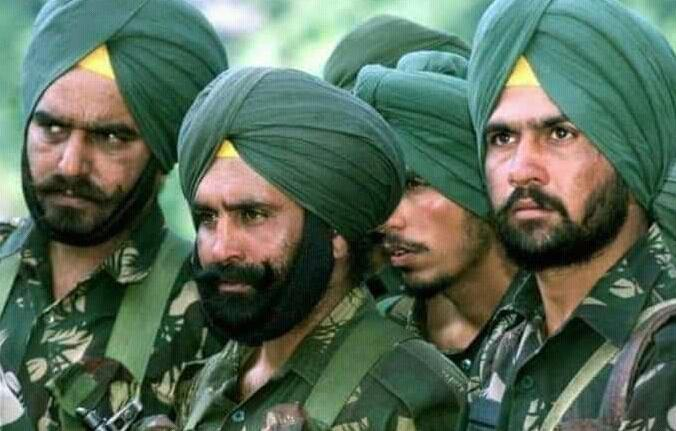 全球军队都带钢盔,而印度军队披着头巾上战场,头巾能挡子弹?