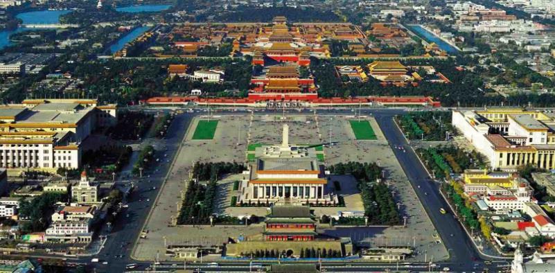 航拍北京故宫,这样才能看出紫禁城的气势,不输世界七大奇迹