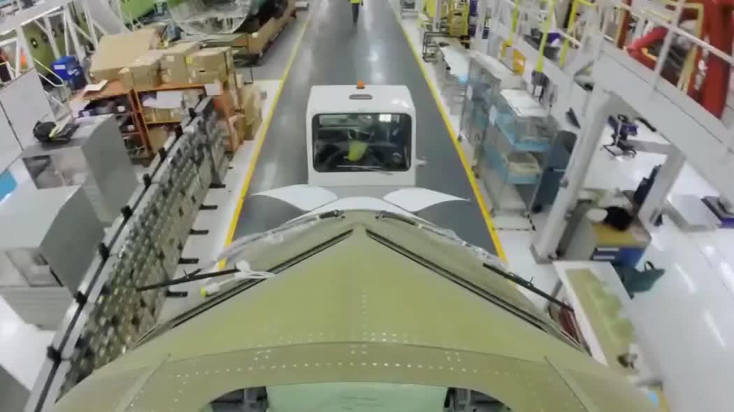 听过却没有见过,一架40米长的大飞机,是如何制造的