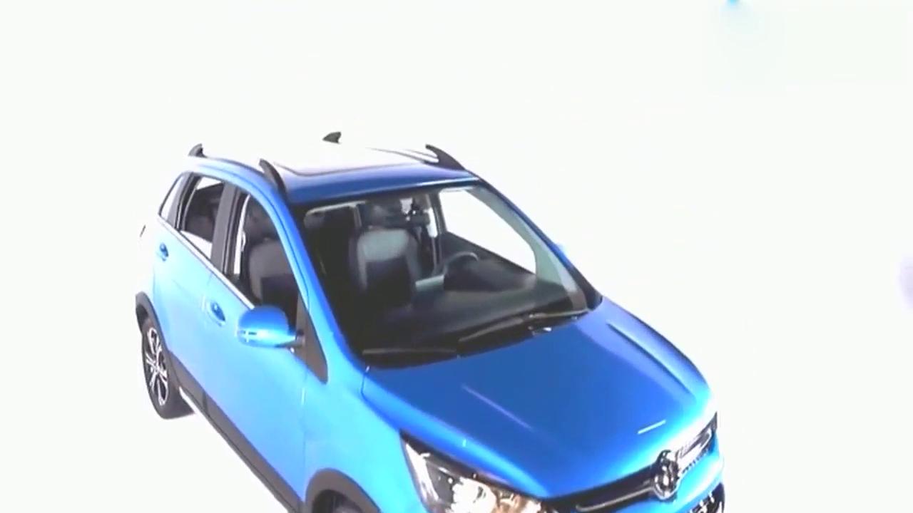 视频:北汽绅宝X25海外版 配备7英寸触摸屏