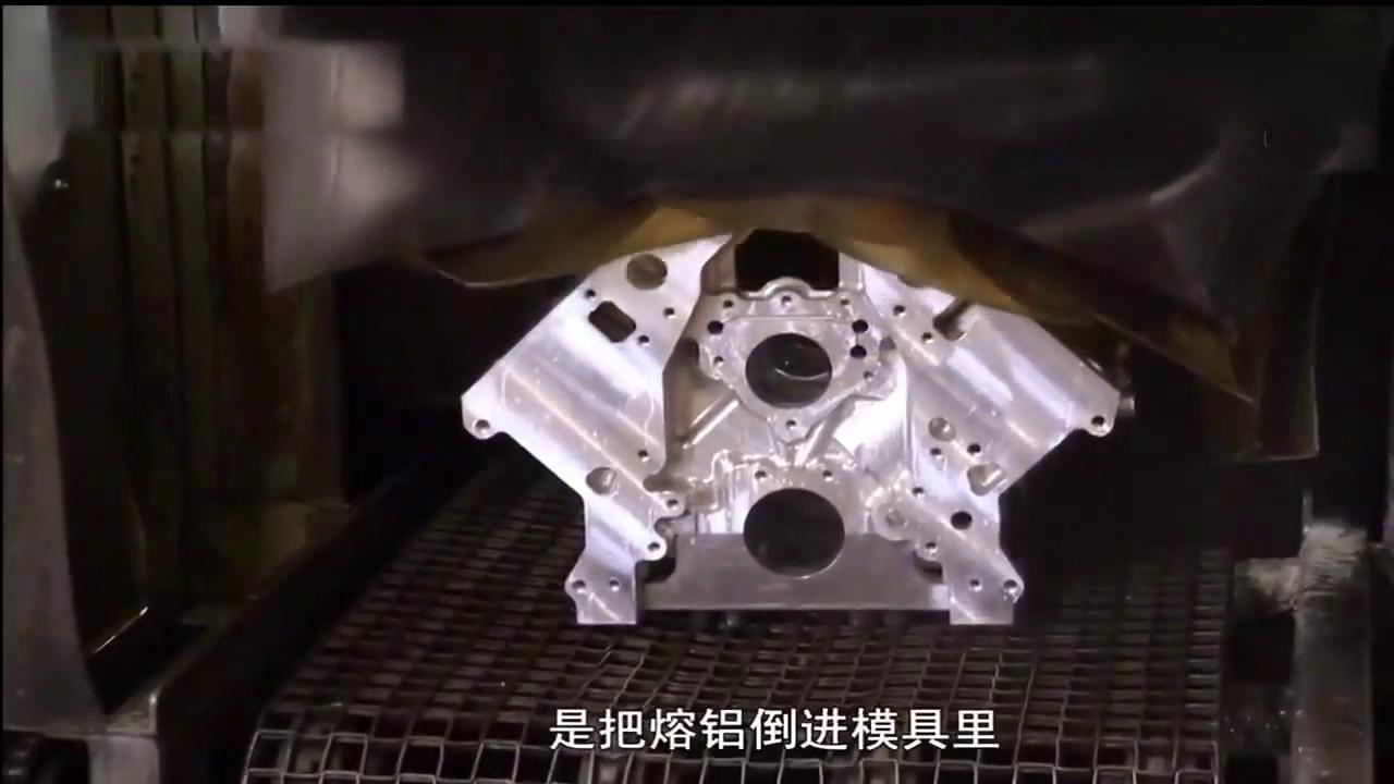 品质优良的发动机缸体,不是浇铸出来的是坯料钻削出来的