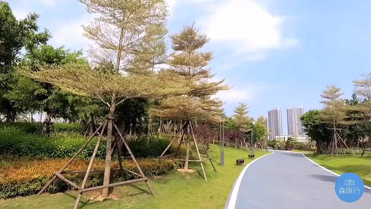 厦门最大的生态公园,横跨集美和同安,面积256万平方米