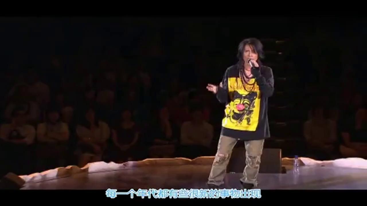 黄子华的演讲太出色了, 佘诗曼主动上台拥抱子华