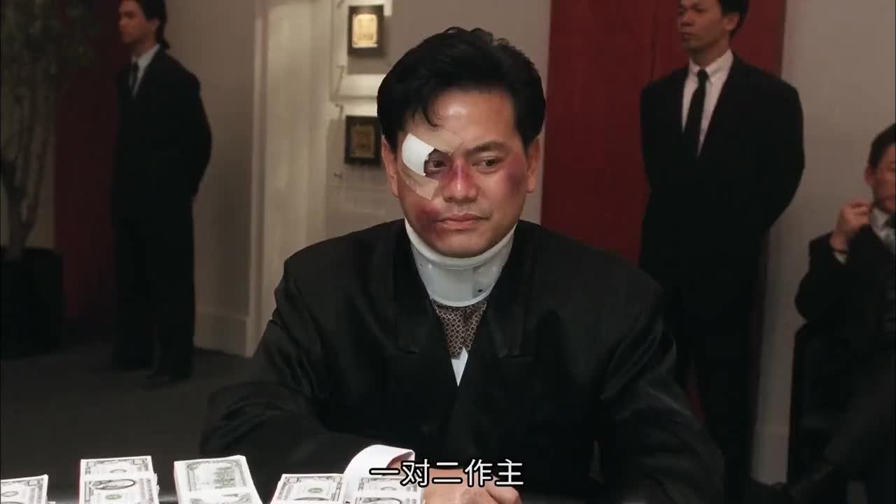 香港经典赌片牌面全是同花顺小伙也不是顺子竟敢梭哈七百万