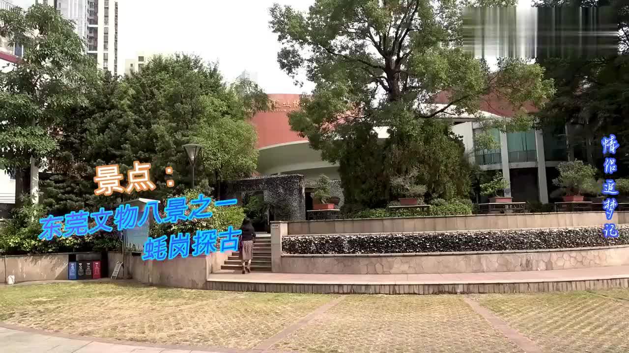 参观东莞蚝岗遗址博物馆东莞文物八景之一蚝岗探古