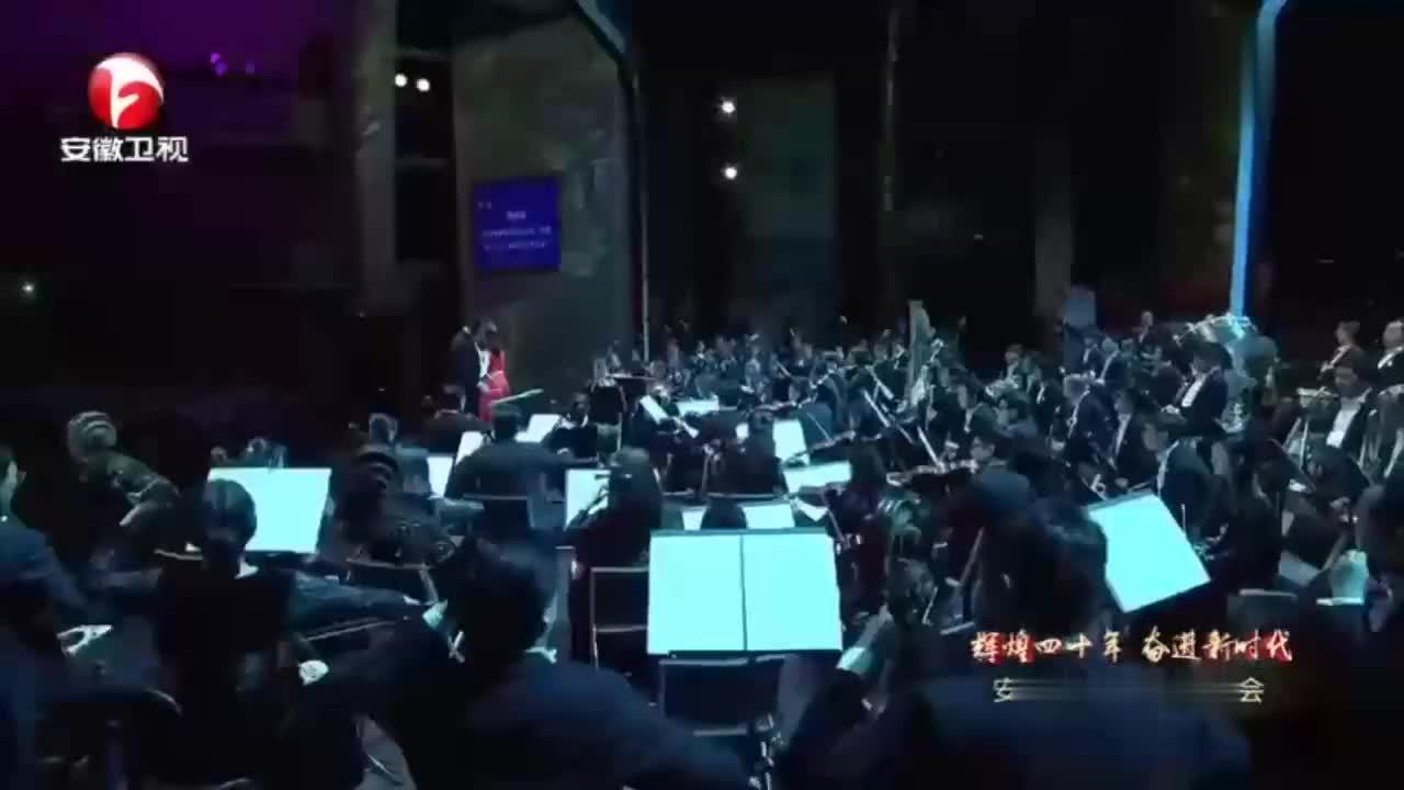 2019安徽新年音乐上韩再芬再唱黄梅经典到底人间欢乐多