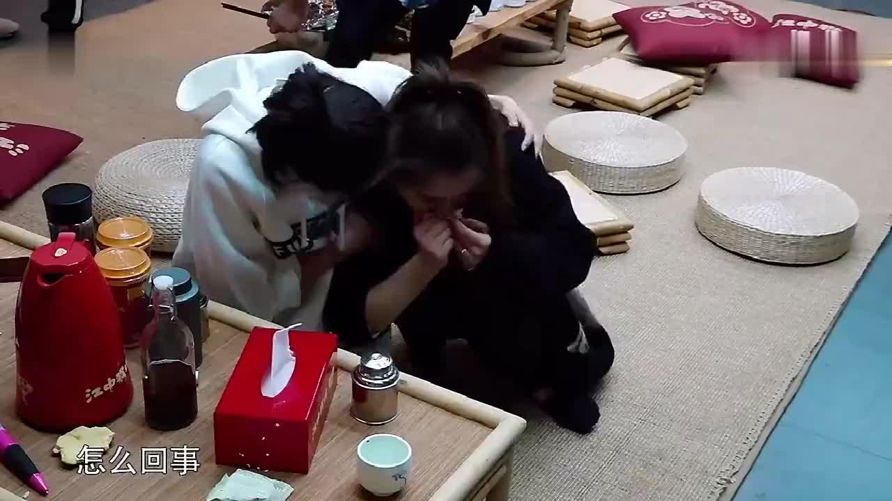 戚薇做客蘑菇屋痛哭佟丽娅看到暖心安慰黄磊自称有罪过