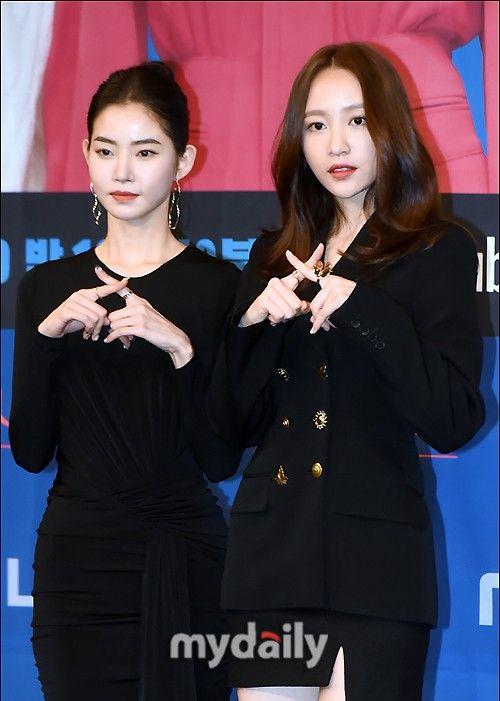 黄承言,Hani等韩国艺人在首尔MBC电视台网剧《The XX》发布会