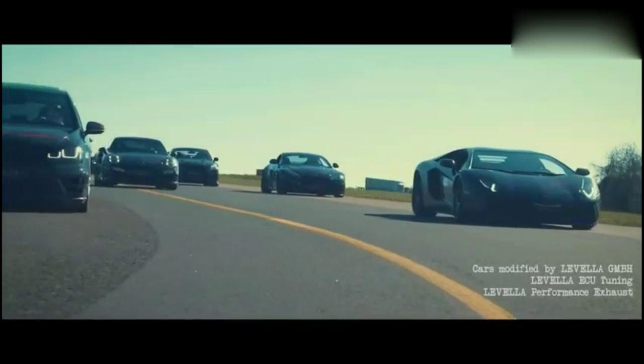 帅爆了!10台性能车在机场跑道一决高下,谁才是最牛逼的战车?