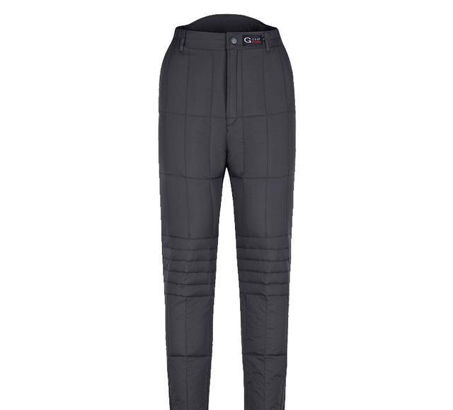 不用再穿羽绒裤了,本季时髦这几款休闲裤,不厚还保暖现在穿正好