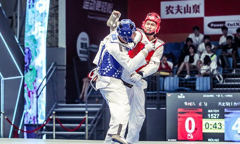全国跆拳道锦标系列赛第三站落幕 八一南昌占据金牌榜首