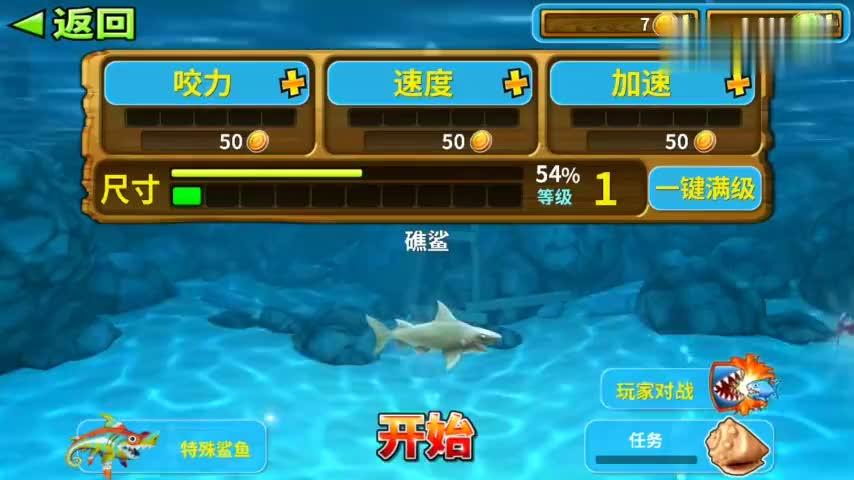 饥饿鲨进化一次性把所有鲨鱼都购买了算起来总共花了多少钱