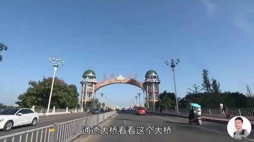 四川遂宁实拍总投资136亿的通德大桥这136亿花的一点都不亏