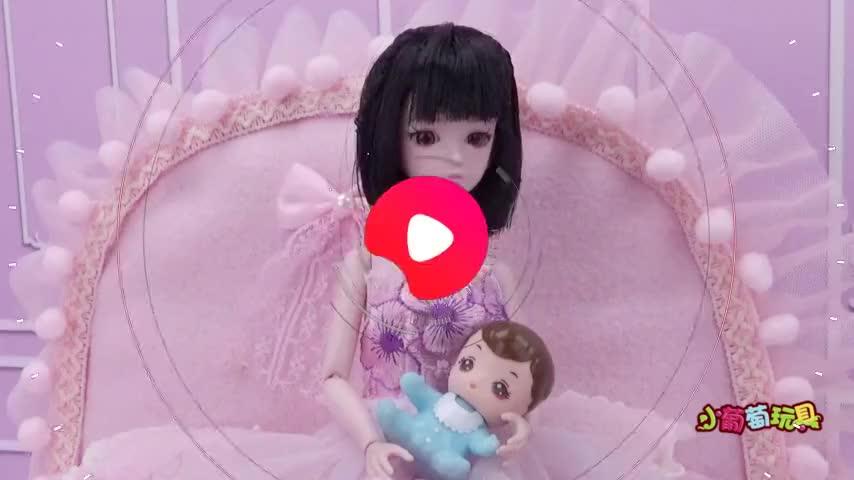 叶罗丽故事结婚后水王子和王默去逛街让冰公主照看宝宝