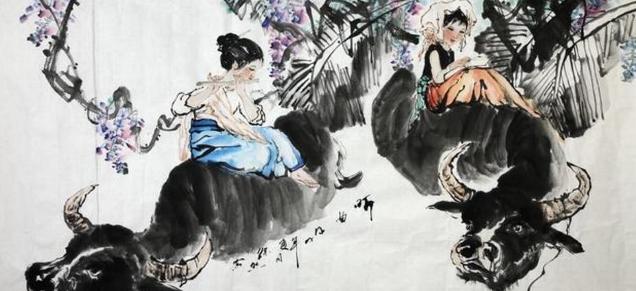著名书画家徐然,国画人物画,精品中国画,书画,艺术作品欣赏!图片