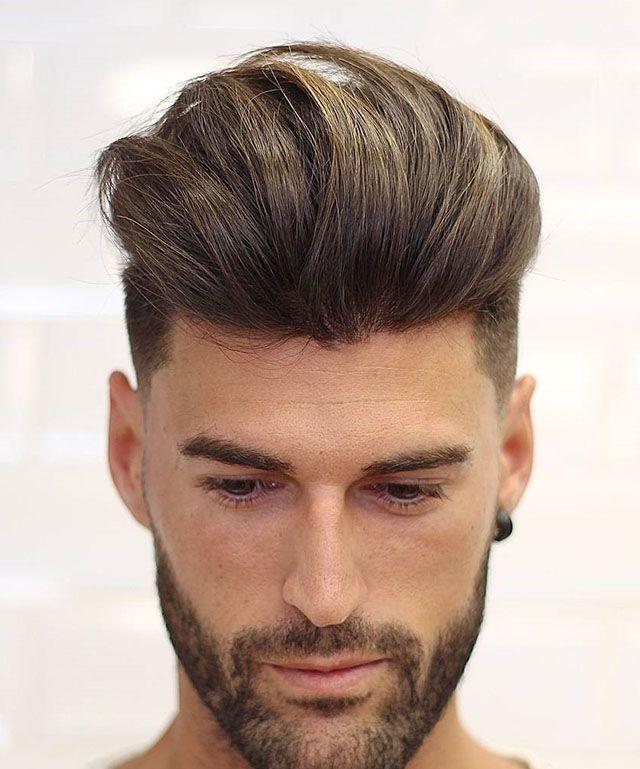 """2019拿得出手的男士发型,别只会跟理发师说""""两边剪短""""图片"""