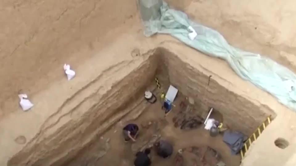 我国发现汉代古墓文物让专家大惊失色这是世纪法国才有的