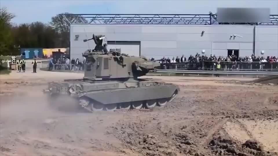 军械百科毛熊军队防空高炮系统有点未来装备的既视感了