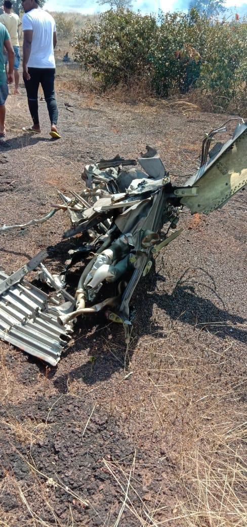 印度海军米格-29K舰载机坠毁 两名飞行员弹射逃生