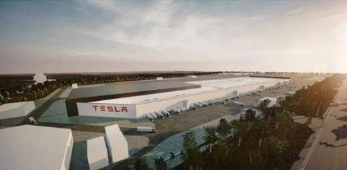 特斯拉上海超级工厂取得首张动力站房综合验收合格证