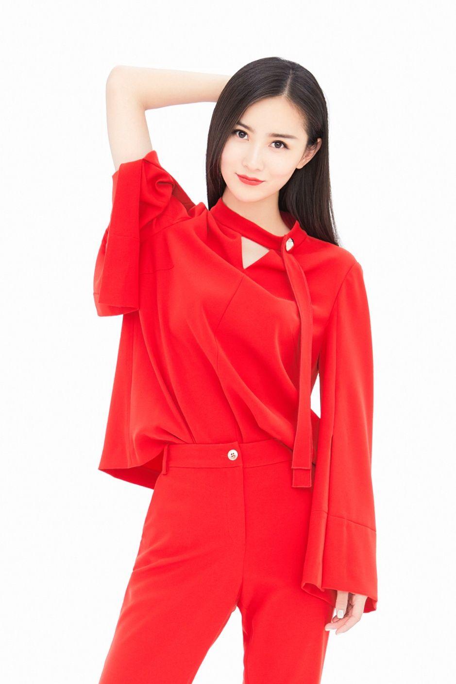 气质高贵 长相靓丽的女明星——张维娜