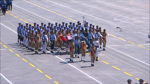 巴基斯坦武装力量方展示风采
