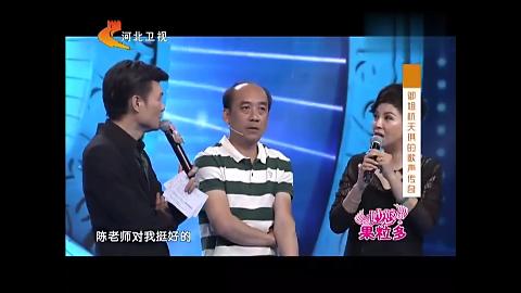 杭天琪自曝当年暗恋男老师,不料老师就在台下,两人已30多年未见