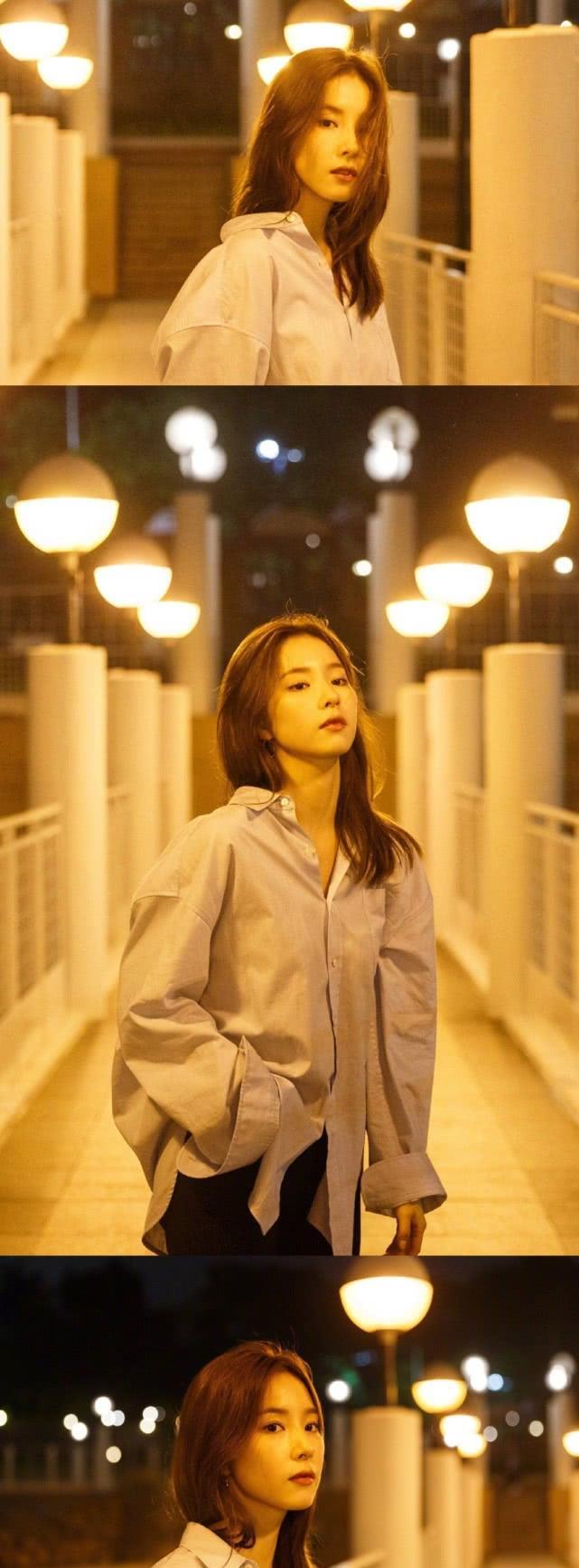 美人申世景的香港旅行,真是非常的美丽动人