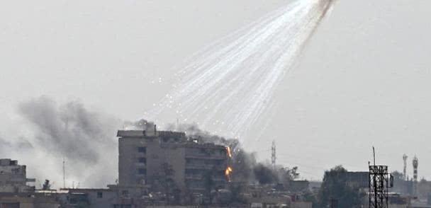 战斗再度打响!叙利亚遭土耳其白磷弹打击,俄军正全力支援库尔德