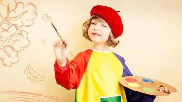 """血色是热心,蓝色是持重,但孩子若稀饭这种""""色彩"""",家长要留意"""