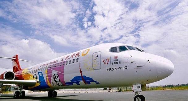中国制造客机首飞国际航班,有着特殊意义,日网友:比日本强
