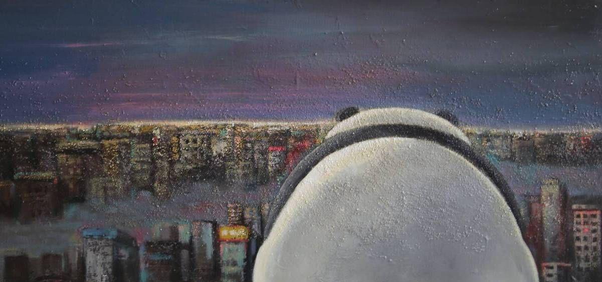 北京自由艺术家刘虹君的绘画作品欣赏