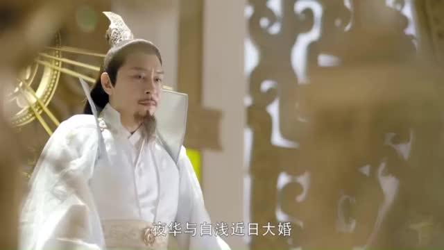 夜华和白浅要成婚了东华帝君前往青丘接亲