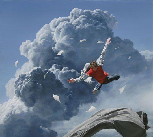 澳大利亚艺术家joel rea超现实主义绘画作品欣赏图片