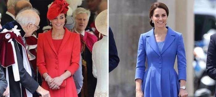 凯特王妃的时尚秘诀: 喜欢的衣服, 就把每种颜色都买下来