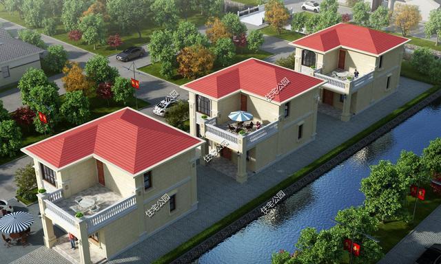 占地不足百平,造价不超25万,小二层简欧农村自建房分享