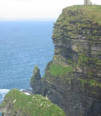欧洲最高的悬崖爱尔兰莫赫悬崖,大自然的鬼斧神工
