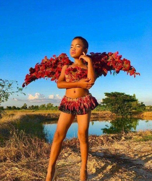 泰国乡村网红Gigi Juno的另类时尚,给个T台,你们就是超模!