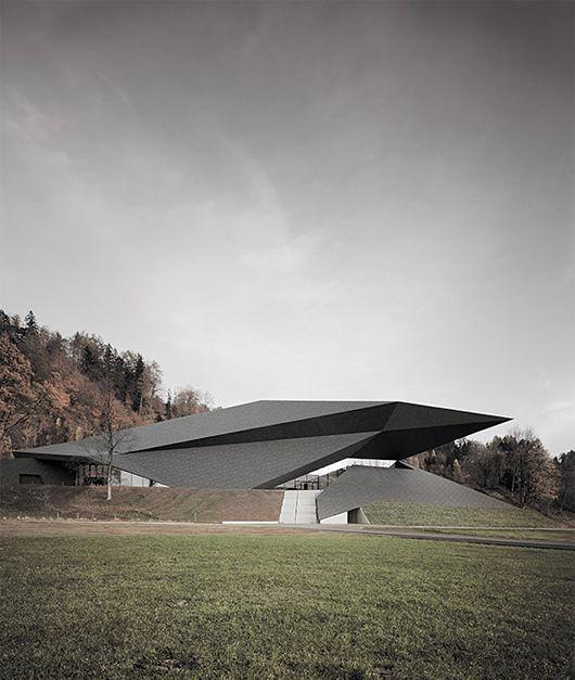 奥地利Tiroler Festspiele Erl新节日音乐厅的建筑设计