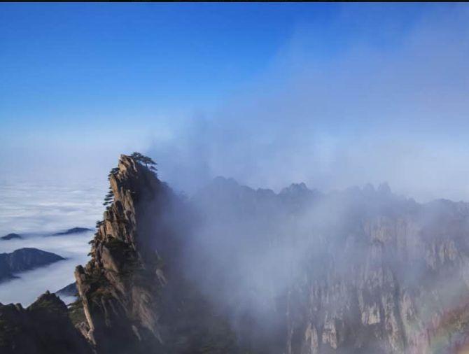 黄山市黄山:豪迈刚劲的精神,美的让人陶醉