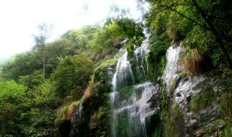 高速铁路如此便利,到黄山去看瀑布是如此便利。